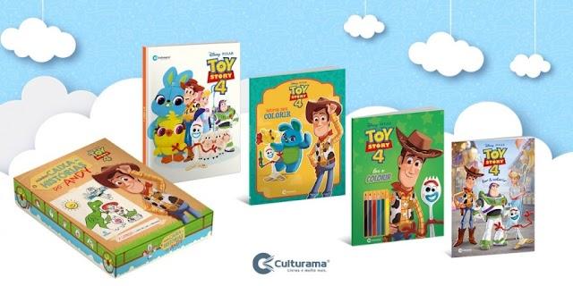 Culturama lança publicações de Toy Story 4