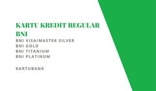 Gambar jenis-jenis kartu kredit BNI untuk informasi limit
