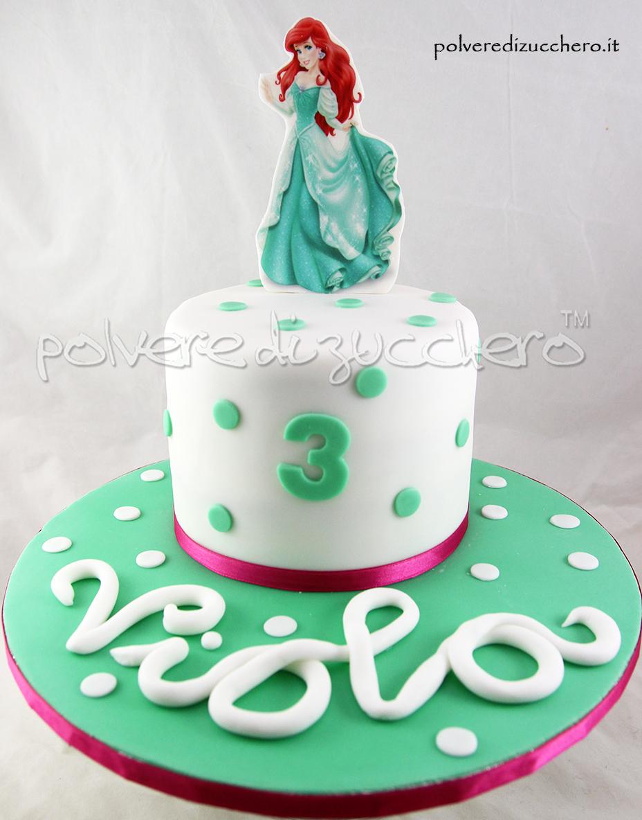 Cake Design Principesse Disney : Torta Principesse Disney per un compleanno: Ariel e Elsa ...
