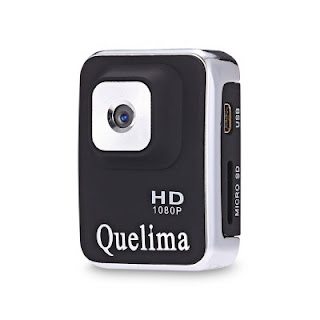 Quelima A3S Mini 1080P DV Camera HD DVR - BLACK