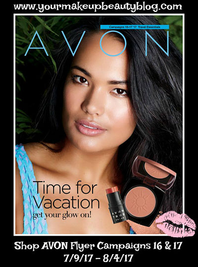 Click on your AVON Flyer Time for VACATION get your glow on!