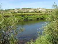 Река Оскол и меловые горы - Двуречанский район Харьковской области