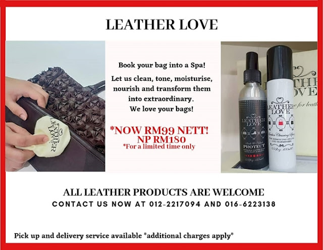 Leather Love Bag Spa, Leather Love, Bag Spa, Publika