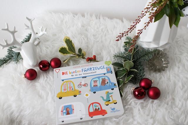 Geschenkideen zu Weihnachten fuer Babys Kleinkinder Unterschiede Buch Fahrzeuge Jules kleines Freudenhaus