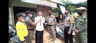 217 Pelanggar Prokes di Pasar Pintas Tuo Tabir Terjaring Razia