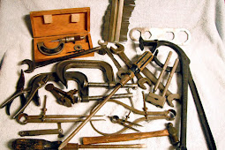 "Bob wrote a great article about tools in the Model T forum on Facebook and mentioned that he inherited tools from his father who was given them by his grandfather ... that""s so cool!"