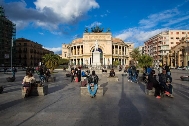 Teatro Politeama Garibaldi-Palermo