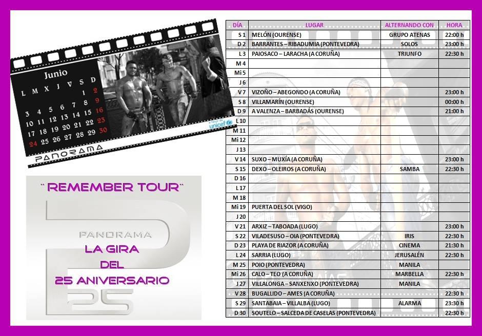 Orquesta Panorama Calendario.Orquesta Panorama Calendario De Junio