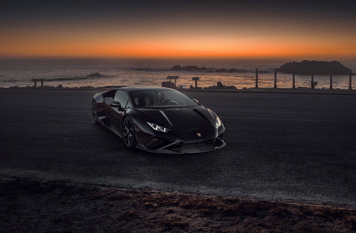 Novitec accessories for Lamborghini Huracán EVO RWD