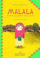 Capa do livro Malala de Adriana Carranca