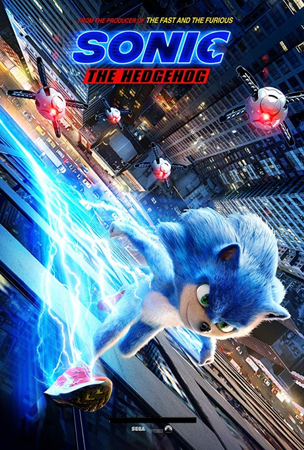 Filem animasi dan Fantasi Sonic The Hedgehog
