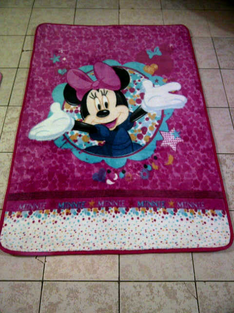gerai keset lucu Karpet Karakter Mini Rp 150 000