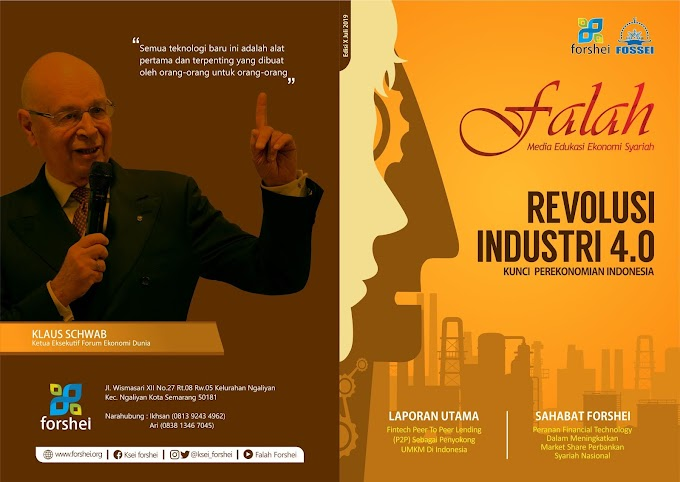 """Majalah Falah Edisi 10 """"Revolusi Industri 4.0 Kunci Perekonomian Indonesia"""""""