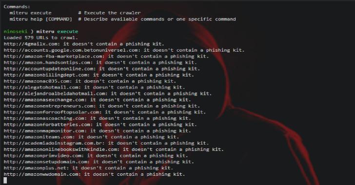 Miteru : An Experimental Phishing Kit Detection Tool
