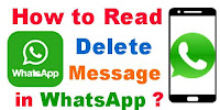 How to Read Delete Message in WhatsApp?