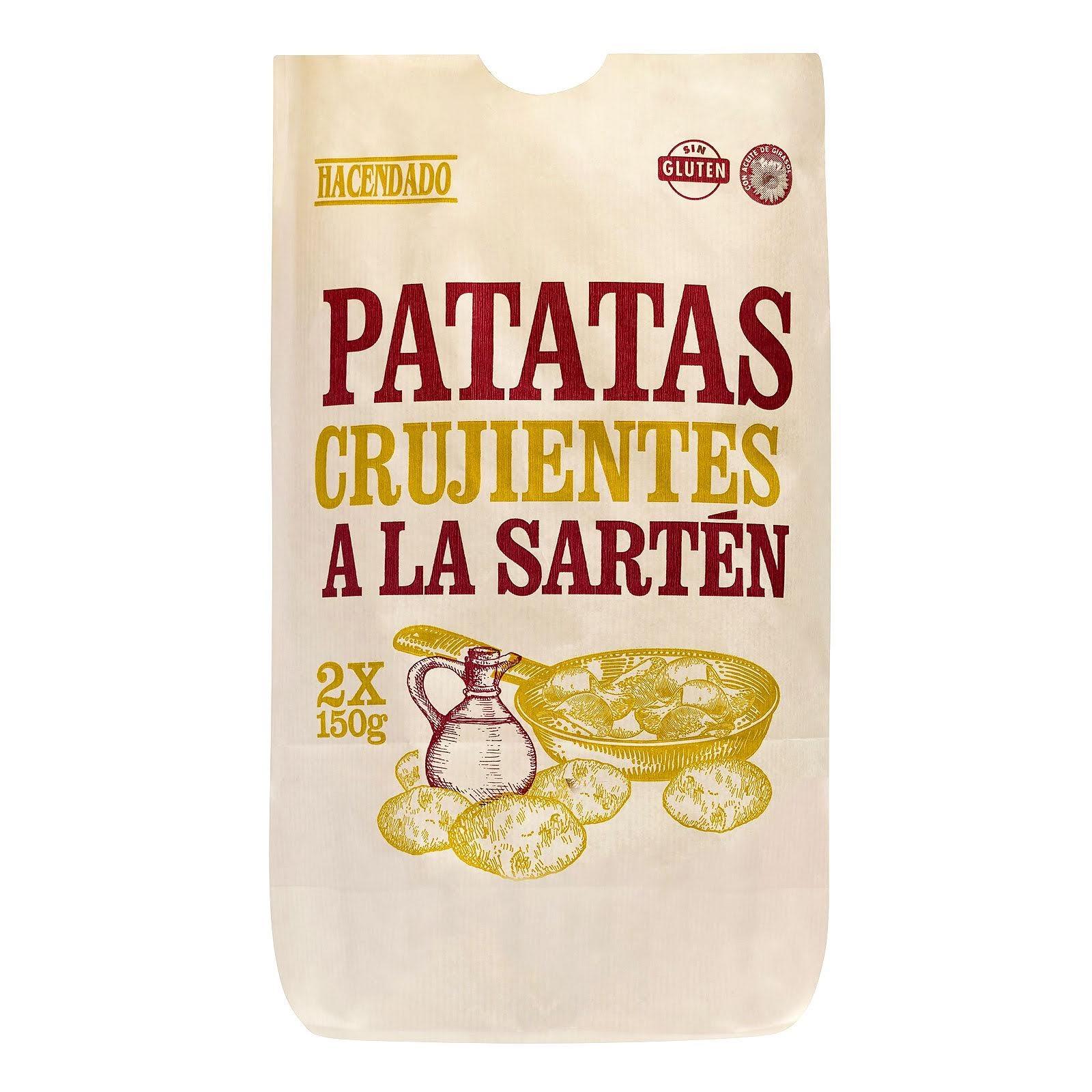Patatas fritas crujientes a la sartén Hacendado