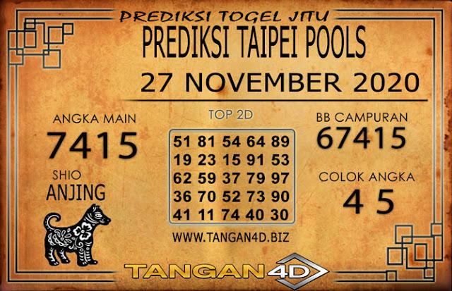 PREDIKSI TOGEL TAIPEI TANGAN4D 27 NOVEMBER 2020