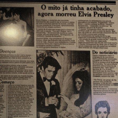 Quarenta anos da morte de Elvis Presley