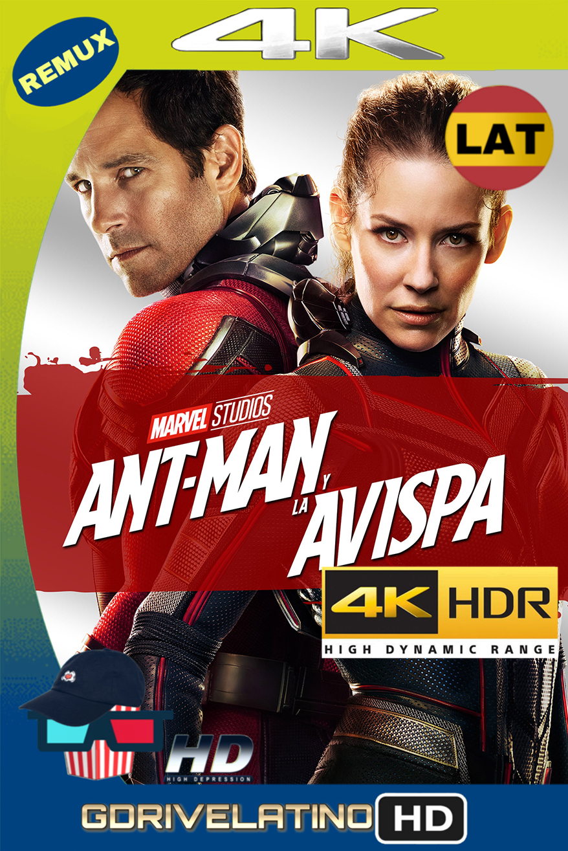 Ant-Man and the Wasp (2018) REMUX 4K (Latino-Inglés) MKV