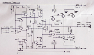 Power Amplifier Blazer St Plus 2 X 250 Watt Circuit Diagram
