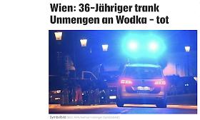 شاب ثلاثيني يفقد حياته في فيينا بسبب افراطه بشرب الفودكا