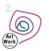 رسومات فنية سهلة للاطفال رسم وردة بسيطة بالرصاص