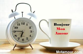 Photo Messages de bonjour mon amour