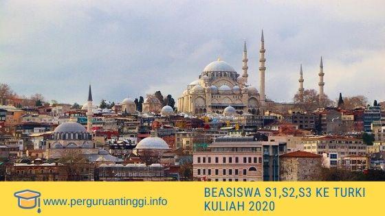 beasiswa S1 , S2 dan S3 ke Turki