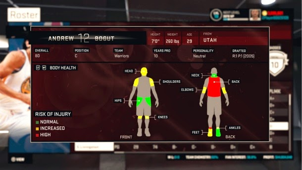 NBA 2K15 MyGM Mode Scouting