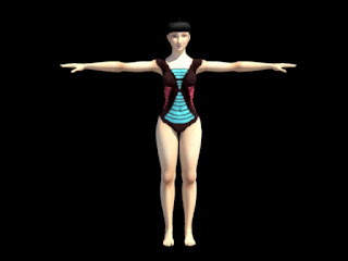 Character in modeling maya female download animation a for