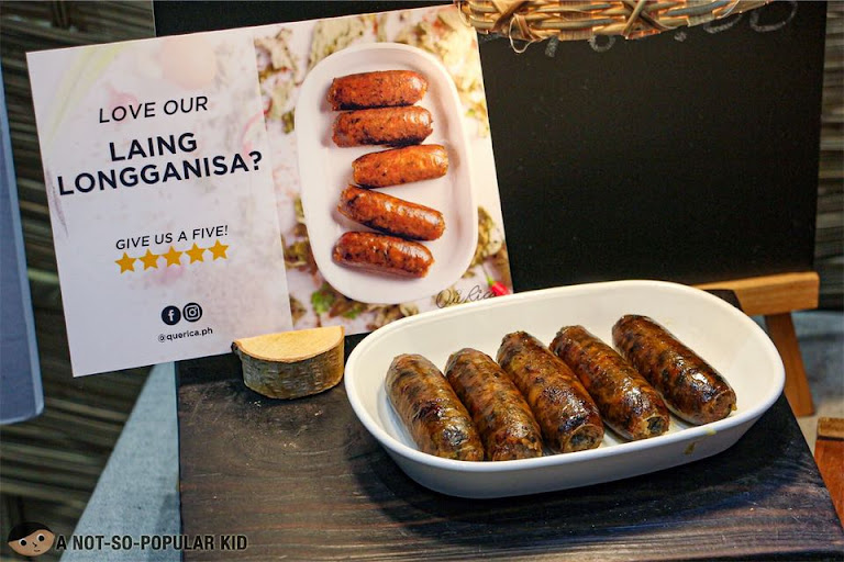 Que Rica's Delicious Laing Longganisa