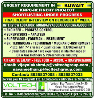 KNPC Refinery Project for Kuwait
