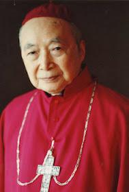 Cardeal Inácio Kung Pin-Mei, arcebispo de Shangai  resistiu heroicamente ao comunismo
