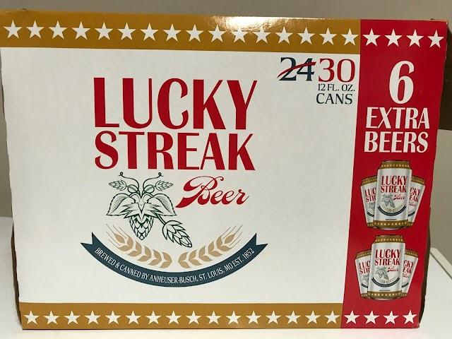 Beer Of The Week - Lucky Streak