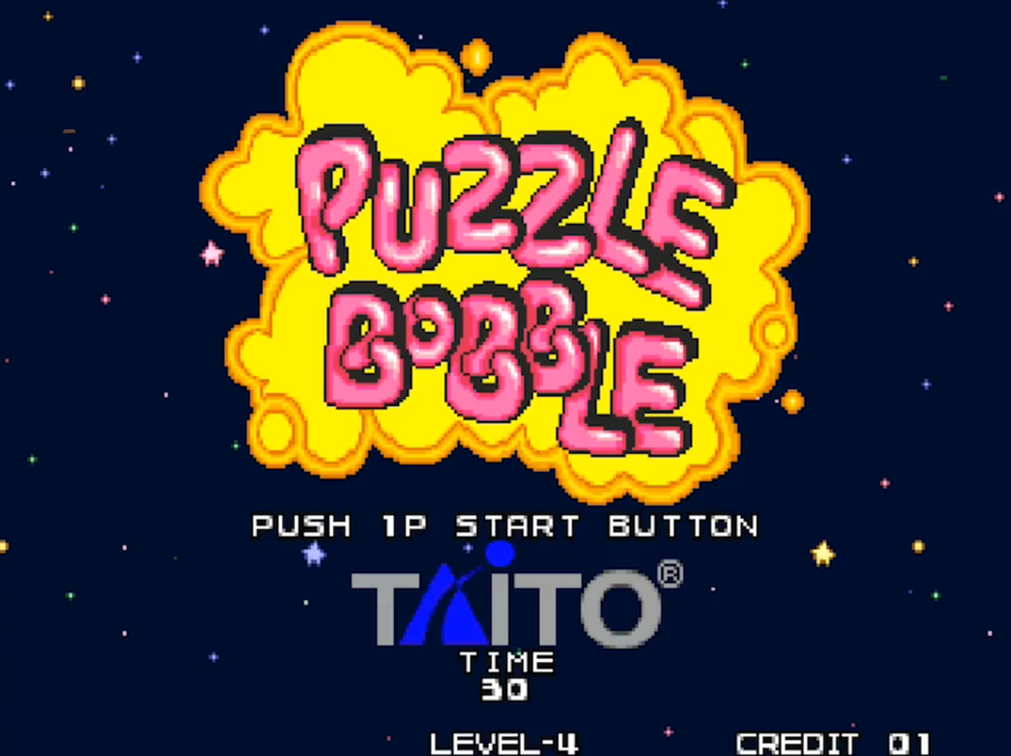 Puzzle Bobble Arcade Dump