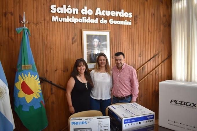 EL MUNICIPIO CONTINÚA INVIRTIENDO PARA MEJORAR LA CALIDAD EDUCATIVA DEL DISTRITO