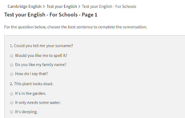 اختبار-Cambridge-English