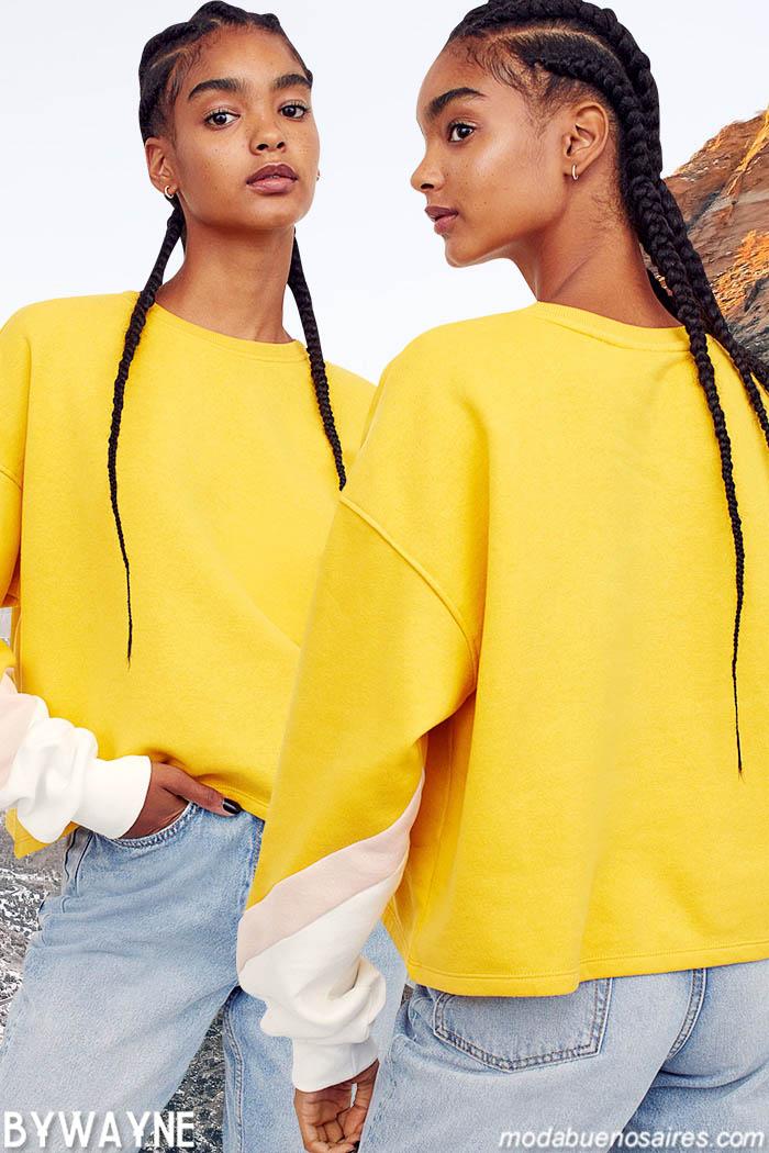 Moda jeans invierno 2021 mujer