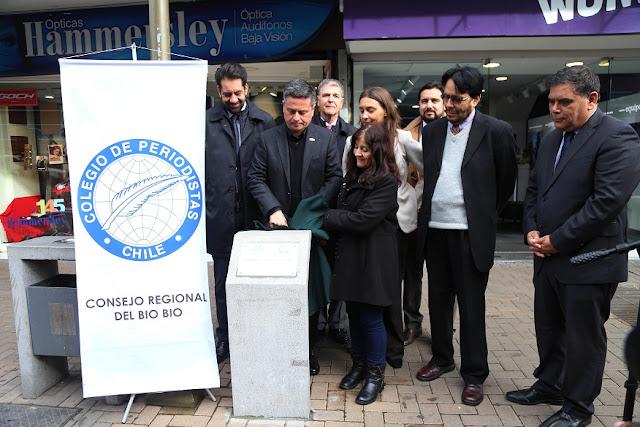 Regional Biobío celebró Día de la Libertad de Prensa en Concepción