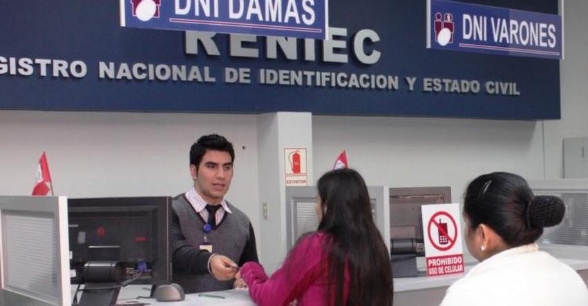 RENIEC: Sepa cómo obtener un Certificado de Nombres Iguales en el Registro Nacional de Identificación y Estado Civil - www.reniec.gob.pe