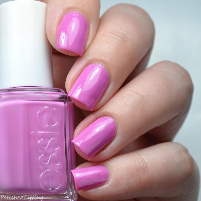 bright purple creme nail polish