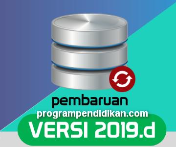 Rilis Aplikasi Dapodikdasmen Versi 2019.d