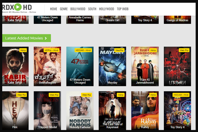 RDXHD 2021 - RDXHD Illegal HD Movies Website Download New Bollywood Hindi Movies, Hollywood Movies, Dual Audio Movies, Telugu Movie, Malayalam Movie and Web Series, News About The RDXHD