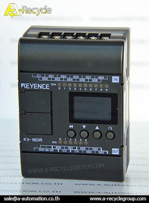 ขาย PLC Keyence รุ่น KV-16DR มือ1 มือ2 ราคากันเอง โทร.02-9444511