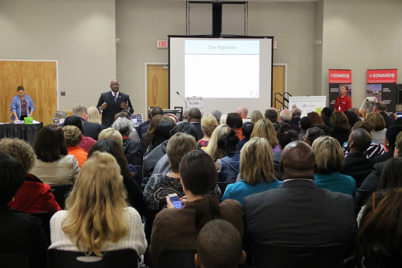 MANY ATTEND CTE SHOWCASE AND STATE OF OUR SCHOOLS ADDRESS