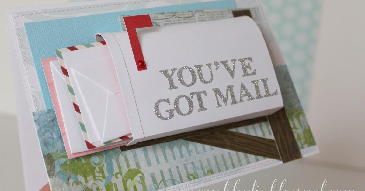 """my creative corner """"you've got mail"""" card"""