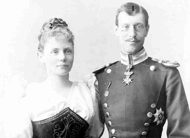 Herzog Wilhelm (II.) von Urach, Graf von Württemberg-Herzogin Amalie in Bayern