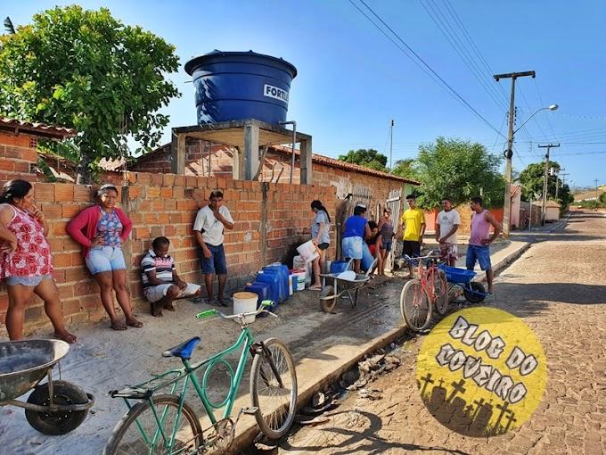 DENÚNCIA: Moradores reclamam da Agespisa por falta de água em vários bairros de Cocal-PI