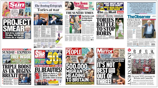 front pages 26-06-16