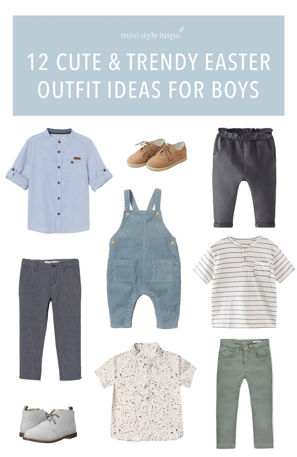 Cute and trendy Easter outfit ideas for boys